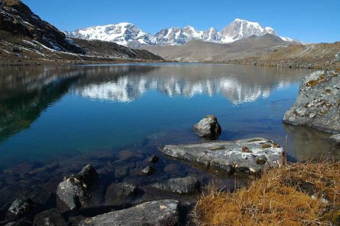 Crow's Lake in Northern Sikkim