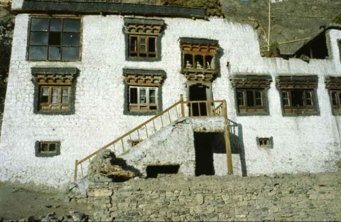 Traditional Ladakh home