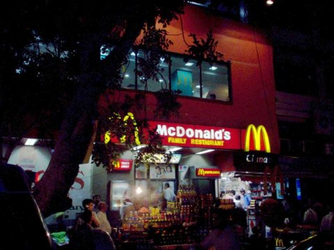 Mcdonald's in New Delhi
