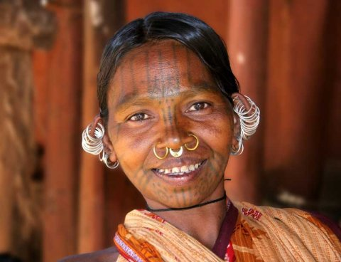Adivasi Tribal Woman